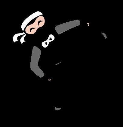 NinjaNik_kick-white
